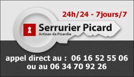 Serrurier Picardie