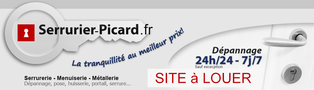 Serrurier  Amiens - Picard
